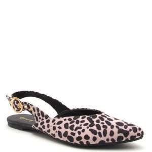Shoes - Moving Sale! Send offers! New Leopard Flats